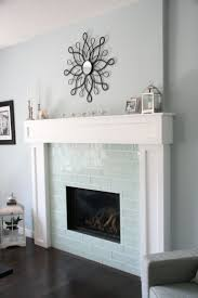 subway tile fireplace surround tiled ideas patterns kitchen best glass on contemporary