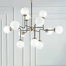 visual comfort bistro chandelier shades