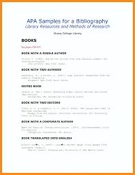 Apa Format Annotated Bibliography Example Annotated Bibliography