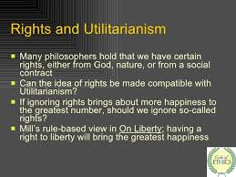 utilitarianism 25 rights and utilitarianism