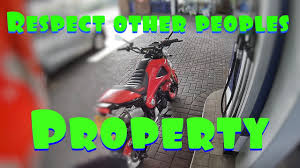 respect other people s property