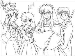 Coloring Page Luxury Inuyasha Coloring Pages