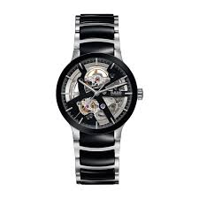 buy a rado watch online fraser hart rado centrix skeleton men s automatic black ceramic and stainless steel bracelet watch