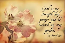 Love Quotes: God Is My Strength And Passions A Simple Quotes About ... via Relatably.com