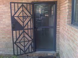 metal security screen doors. Full Image For Good Coloring Metal Security Front Door Gate 85 Gates Screen Doors G