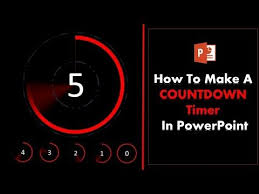 5 Minute Countdown Timer For Powerpoint 6 How To Create A 5 Second Countdown Timer In Powerpoint