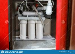 Reverse Osmosis Water Purification System At Home Installation Of