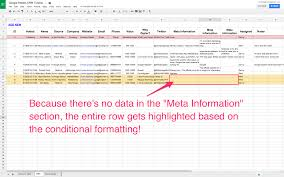 Excel Crm Templates Spreadsheet Crm How To Create A Customizable Crm With Google Sheets