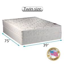 twin size mattress. American Legacy Innerspring Coil Twin Size Mattress And Box Spring Set R