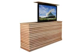 Raising tv cabinet Accord Maple TV lift cabinet