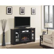 Tv Stand Decor Modern Tv Console With Fireplace