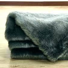 grey fur rug black fur rug sheepskin fur rug factory plus area gray jacket black