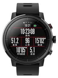 Купить Умные часы Xiaomi Huami <b>Amazfit Stratos</b>, <b>черные</b> по ...