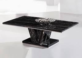 black marble living room tables