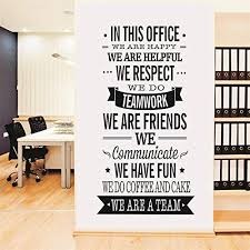 office wall art. Yanqiao Work Team Slogan English Words Wall Stickers For Office  Decoration Removable Vinyl Decal Art Office Wall Art W