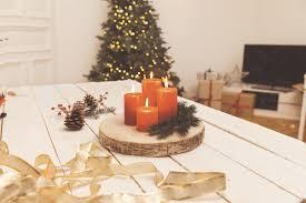 Weihnachtsdeko Aus Holz Adventskranz Basteln Obi