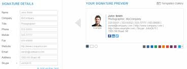 Company Email Signature 10 Examples Of Well Crafted Email Signatures For Businesses