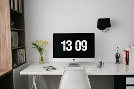 office work space. home office workspace desk design creative work space