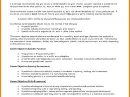 Impressive Career Change Resume Objective Statement Examples