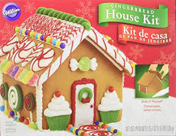 amazon com  build it yourself wilton gingerbread house decorating kit  kitchen  u0026 dining