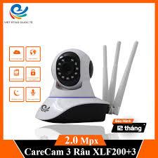 Camera Ip - Camera Wifi Ip Giám Sát Carecam XLF200 Trong Nhà 1080Px Có Hỗ  Trợ USB 4G giảm chỉ còn 325,000 đ