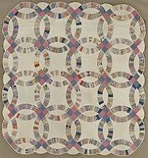 Quilt - Wikipedia & Double Wedding Ring Quilt, ca. 1930. Cotton. Brooklyn Museum Adamdwight.com