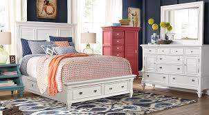 white king storage bed.  Bed Belmar White 5 Pc King Panel Bedroom With Storage  Sets On Bed C