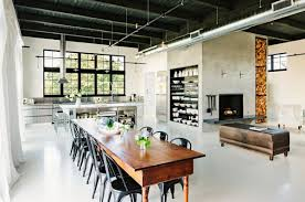 View in gallery Metallic details in an industrial home