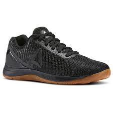 reebok crossfit shoes blue. reebok - crossfit nano 7 weave black / rubber gum bs8326 crossfit shoes blue r