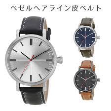 bezel hairline skin belt watch fashion cool men s present present gift cal sfm for men