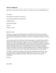 Cover Letter Template Youth Worker Workitout Itworksout Sample