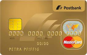 Kreditkarte postbank beantragen