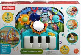 fisher discover n grow kick play piano gym