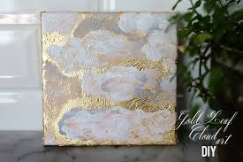 Gold cloud art diy final Two Delighted copy
