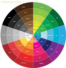Brown Color Chart Wheel Pin By J L V On Colour Wheels In 2019 Makeup Color Wheel