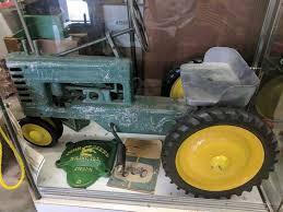corn head and bine head custom made ih 915 w gray steering in blue yellow box custom gleaner l2 bine only 4 made several other bines