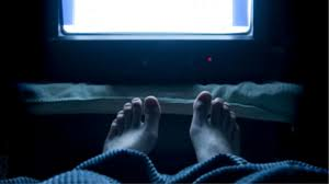 Image result for can't fall asleep without the tv