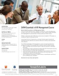 SHRM Essentials® of HR Management Course