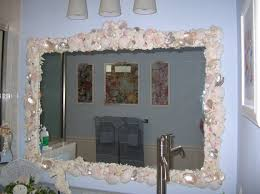 Bathroom Mirror Frame Bathroom Bathroom Mirror Frame Diy With Dot Pattern Mirror Frame