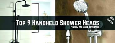 best hand held shower head best handheld shower head for low water pressure hand held shower