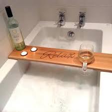 bathtub tray caddy diy bed bath and beyond