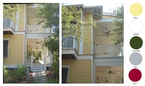 exterior house color combination. cottage color schemes from watercolor seaside florida part 1 and scheme 2 yellow house architectures exterior combination i