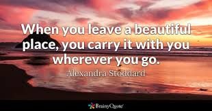 Beautiful View Quotes Best of Beautiful Place Quotes BrainyQuote
