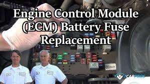 engine control module ecm battery fuse replacement engine control module ecm battery fuse replacement