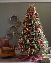 ... Venetian Burgundy and Gold Tree Skirt Alt ...