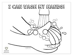 personal hygiene coloring pages germ page hand washing sheets free