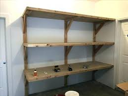 simple garage shelf plans best cabinet design diy how to build heavy duty shelves fresh furniture