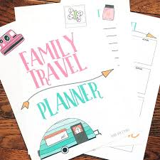 The Ultimate Printable Vacation Planner For Families Sunny Day Family