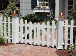 Heavenly Picket Fence Gate Installation and picket fence gate arbor