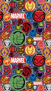 Marvel Pattern Wallpapers - Top Free ...